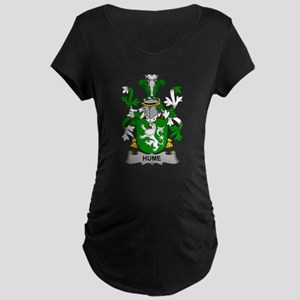 Hume Family Crest Maternity T-Shirt