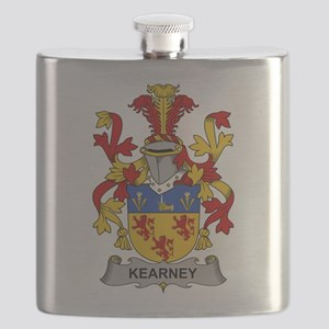 Kearney Family Crest Flask