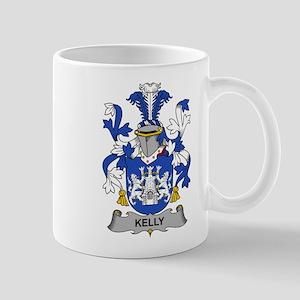 Kelly Family Crest Mugs
