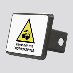 Beware Of The Photographer Rectangular Hitch Cover