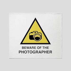 Beware Of The Photographer Stadium Blanket