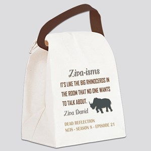 ZIVA-ISMS Canvas Lunch Bag