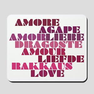 Shades of Love Mousepad