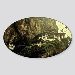 The Tigers Nest Sticker (Oval)