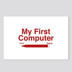 My First Computer Postcards (Package of 8)