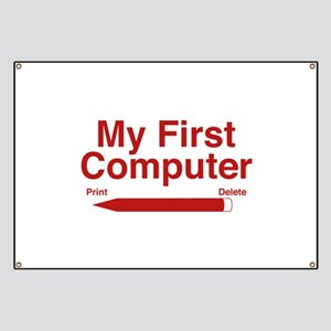 My First Computer Banner