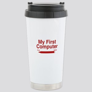 My First Computer Stainless Steel Travel Mug