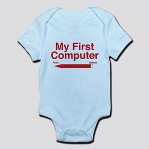 My First Computer Infant Bodysuit