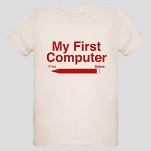 My First Computer Organic Kids T-Shirt