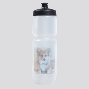 Too Cute Corgi puppy Sports Bottle