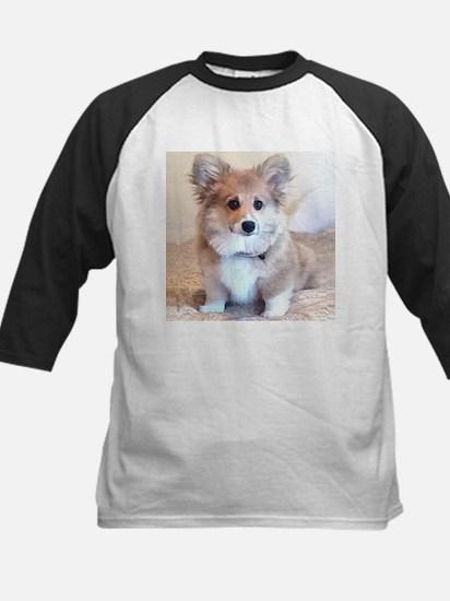 Too Cute Corgi puppy Baseball Jersey