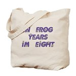 8 Frog Years, 60th Tote Bag