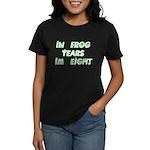 8 Frog Years, 60th Women's Dark T-Shirt