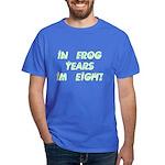 8 Frog Years, 60th Dark T-Shirt
