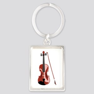 Violin and Bow Keychains