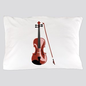 Violin and Bow Pillow Case
