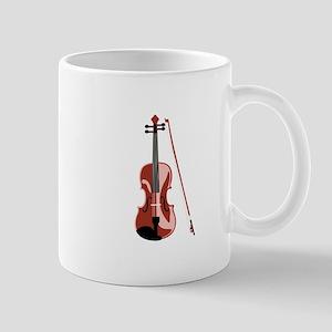 Violin and Bow Mugs