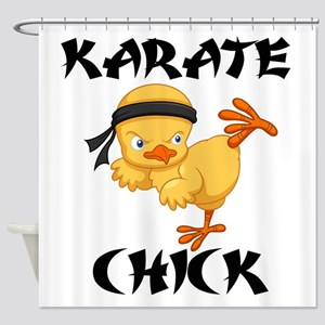 karate chick Shower Curtain