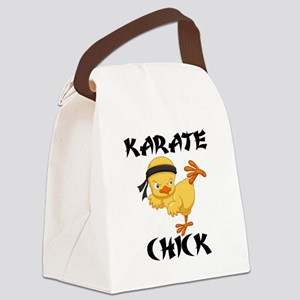karate chick Canvas Lunch Bag