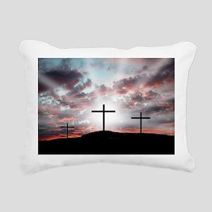Sunrise Faith Rectangular Canvas Pillow