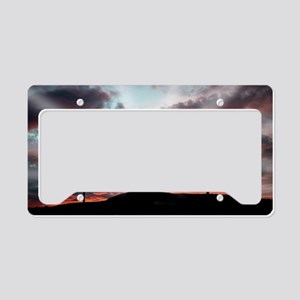 Sunrise Faith License Plate Holder
