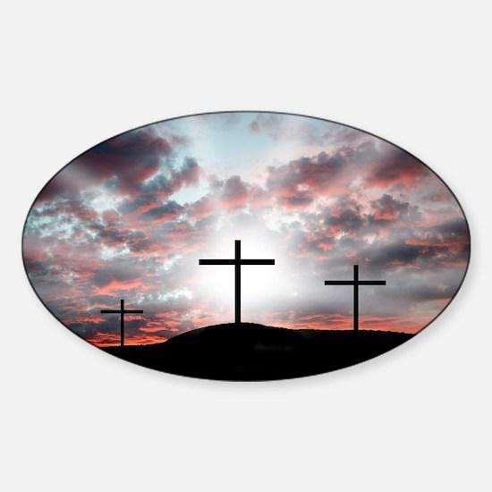 Sunrise Faith Sticker (Oval)