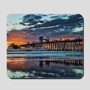 Oceanside Pier Mousepad