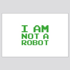I Am Not A Robot Large Poster