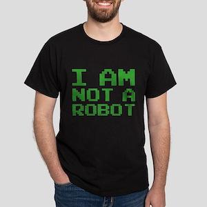 I Am Not A Robot Dark T-Shirt