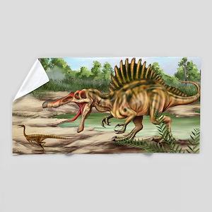 Dinosaur Species Beach Towel