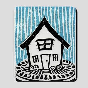Happy House Mousepad