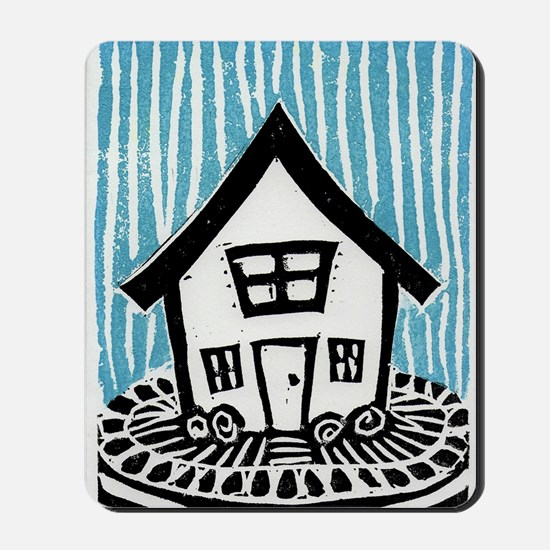 Happy House Mousepad