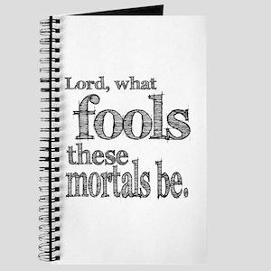 Mortal Fools Shakespeare Journal