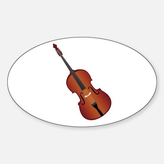 Standup Bass Decal