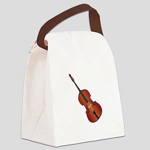 Standup Bass Canvas Lunch Bag