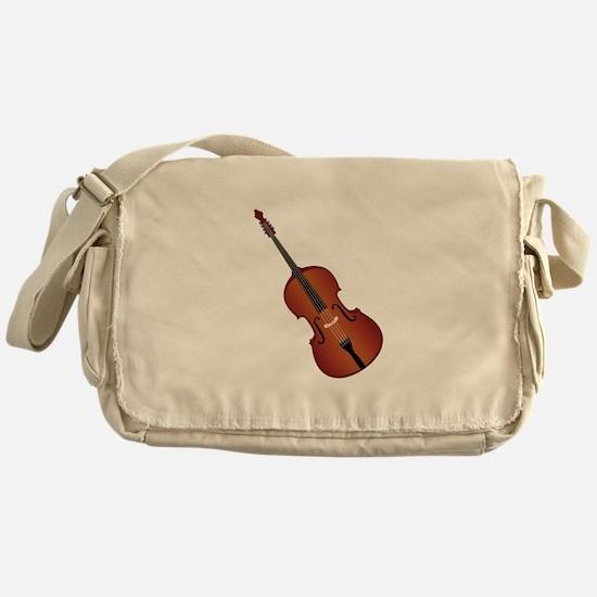 Standup Bass Messenger Bag