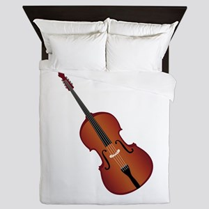 Standup Bass Queen Duvet