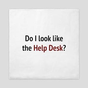Do I Look Like The Help Desk? Queen Duvet