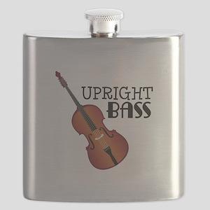 Upright Bass Flask