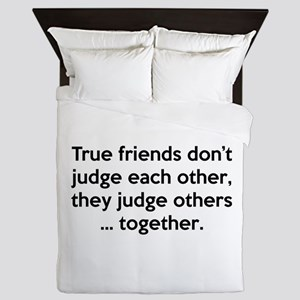 True Friends Queen Duvet