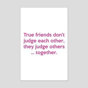 True Friends Mini Poster Print
