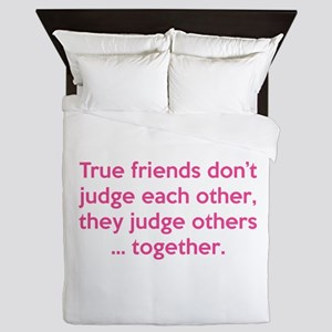 True Friends Queen Duvet