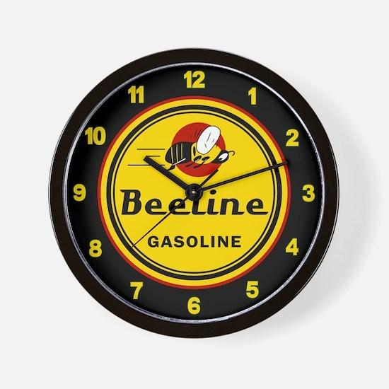 Beeline Gasoline Wall Clock