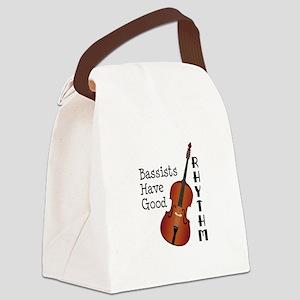 Bassists Have Good Rhythm Canvas Lunch Bag