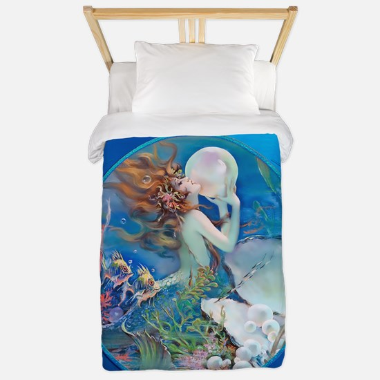 Clive Erotic Pearl Mermaid Face Right Twin Duvet