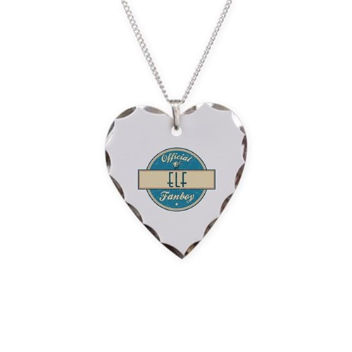 Official Elf Fanboy Necklace Heart Charm