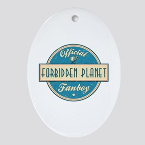 Official Forbidden Planet Fanboy Oval Ornament