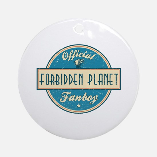 Official Forbidden Planet Fanboy Round Ornament