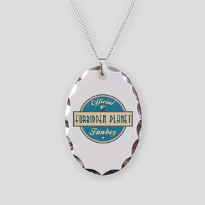 Official Forbidden Planet Fanboy Necklace Oval Cha