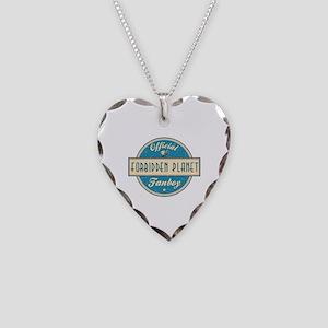 Official Forbidden Planet Fanboy Necklace Heart Ch